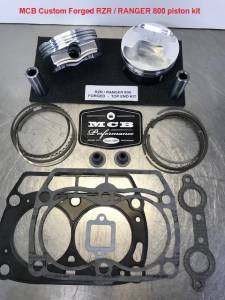 ATV, UTV, & Off Road - ATV/UTV Piston Kits - MCB - Polaris 800 Ranger Top End Kit FORGED
