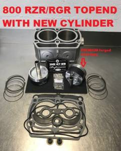 MCB - 2005-2015 Polaris RZR, Ranger, Sportsman 800 - FORGED Top End Rebuild Kit W/ Cylinder