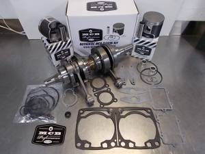 Snowmobile - MCB Engine Rebuild Kits:  STAGE -2 ARCTIC CAT - MCB - MCB Engine Kit Stage-2 Crankshaft & DUAL-Ring Piston Kit ARCTIC CAT 800 2007-2010