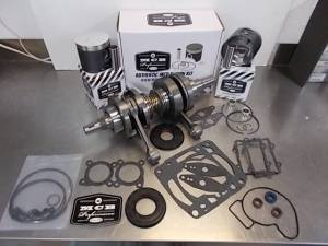Snowmobile - MCB Engine Rebuild Kits:  STAGE -2 ARCTIC CAT - MCB - MCB Engine Kit Stage-2 Crankshaft & DUAL-Ring FORGED Piston Kit ARCTIC CAT CF1000 2007-2011