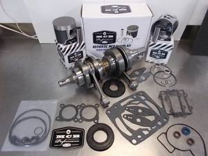 Snowmobile - MCB Engine Rebuild Kits:  STAGE -2 ARCTIC CAT - MCB - MCB Engine Kit Stage-2 Crankshaft & DUAL-Ring Piston Kit ARCTIC CAT CF1000 2007-2011