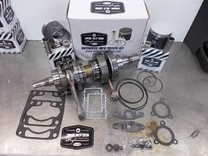 Snowmobile - MCB Engine Rebuild Kits:  STAGE -2 ARCTIC CAT - MCB - MCB Engine Kit Stage-2 Crankshaft & DUAL-Ring FORGED Piston Kit ARCTIC CAT 600 2003-2010