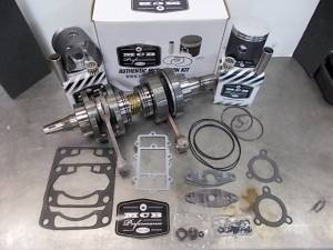 Snowmobile - MCB Engine Rebuild Kits:  STAGE -2 ARCTIC CAT - MCB - MCB Engine Kit Stage-2 Crankshaft & DUAL-Ring FORGED Piston Kit ARCTIC CAT 700 M7 2003-2010