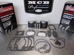 MCB Piston /Top End Kits:  STAGE -1  - ARCTIC CAT - Wossner Pistons - Arctic Cat 1000cc 2007-2010 FORGED Wossner Piston & Gasket Kit F 1000, M 1000,