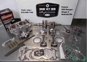 ATV/UTV Engine Rebuild Kits - MCB - Polaris 900 Rzr 2013+ MCB STAGE 4 rebuild kit