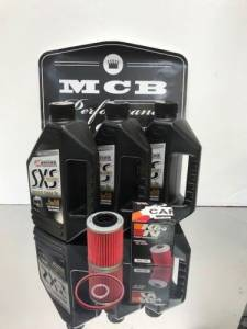 Maxima Lubricants - Can Am BRP Maverick 1000 Full service oil change kit including o-rings 3 quarts