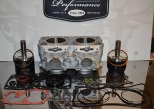 2011 Polaris 800 Piston kit Dragon Switchback Pro RMK fix it kit w/ cylinder - FORGED