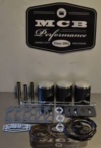 MCB Piston /Top End Kits:  STAGE -1  - POLARIS - Wossner Pistons - Polaris 1999-03 XCR800 Wossner FORGED Piston and Gaskets kit