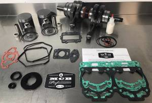 SNOWMOBILE - MCB Engine Rebuild Kits:  STAGE - 2  SKIDOO - MCB - MCB STAGE-2 DUAL RING CAST Piston Kit & Crankshaft - SKI DOO 800R XP 2009-and up CARB models only (not ETEC)
