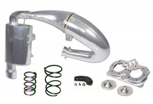SLP  - Polaris - SLP - Starting Line Products - 2015-19 Polaris 800 Axys Models Single Pipe Set Stage 3