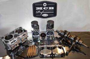 Snowmobile - MCB Engine Rebuild Kits STAGE - 3 POLARIS - MCB - 2010 Polaris 800 Piston kit Dragon Switchback Pro RMK Stage 3 Rebuild Kit - CAST