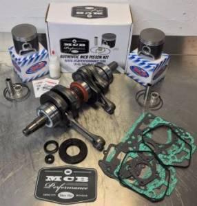 SNOWMOBILE - MCB Engine Rebuild Kits:  STAGE - 2  SKIDOO - MCB - MCB Stage-2 Crankshaft & DUAL-Ring Piston Kit Ski-Doo 700 / 2001-2002