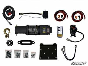 Super ATV - 4500 Lb Super ATV Winch Black Ops UTV/ATV Synthetic Rope - Image 4