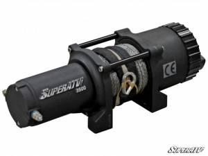 Super ATV - Super ATV UTV 3500 lb winch WN-3500 with wireless remote synthetic rope - Image 2