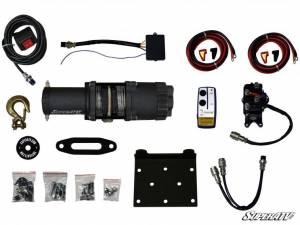 Super ATV - Super ATV UTV 3500 lb winch WN-3500 with wireless remote synthetic rope - Image 3