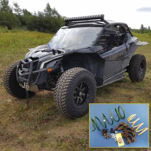 "UTV Clutch Kits - Can-Am - Dalton Industries - Dalton clutch kit 2017-19 Can Am Maverick X3 Turbo ""R"" model only (172 HP version)"