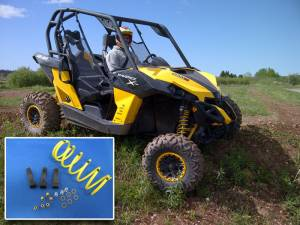 UTV Clutch Kits - Can-Am - Dalton Industries - Dalton clutch kit for 2013- 2017 Maverick (not 2017+ XMR version) -Stock or oversized tires*, adjustable kit