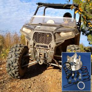 "UTV Clutch Kits - Polaris - Polaris - Adjustable clutch kit for the 2016-2019 Polaris 900cc RZR models -28"" and larger tires (2 seat version)"