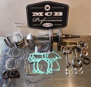 ATV/UTV Engine Rebuild Kits - Kawasaki - MCB - KAWASAKI KFX 700 SPORT (04-09), KFX 700 V-Force (04-09), KVF 700 Prairie 4x4 (04-06); LTV 700 F Twin Peaks 4x4 (04-05) -  ROTATING KIT