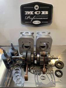 Snowmobile - MCB Engine Rebuild kits: STAGE - 3 ARCTIC CAT - Arctic Cat - 2002-09 MCB Stage-3 CAST Engine Rebuild Kit Arctic Cat 570