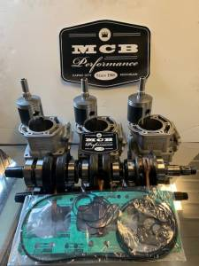 Snowmobile - MCB Engine rebuild kits:   STAGE - 3 SKIDOO - Ski-Doo - Stage 3: Ski Doo Mach Z 780cc / Mach Z LT / Formula (1993-96 780cc motors only)