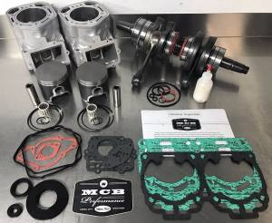 SNOWMOBILE - MCB Engine Rebuild kits:   STAGE - 3 SKIDOO - MCB - 1999-2017 Ski-Doo 600 NON-ho / 500SS Engine rebuild kit Stage 3 FORGED