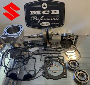 MX Engine Rebuild Kits - SUZUKI - 2006-2009 Suzuki LT-R 450 Complete Engine Rebuild Crank Bearing Piston