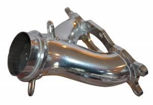 2010-18 Polaris 600 Y-pipe, Rush, Switchback, RMK, Indy, Ceramic Coated