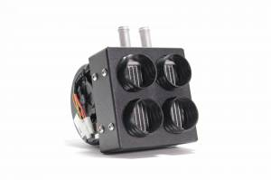 2017-2019 Can-Am Maverick X3 Inferno Cab Heater with Defrost – Direct Fit Hidden - Image 2
