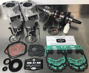 SNOWMOBILE - MCB Engine Rebuild kits:   STAGE - 3 SKIDOO - MCB - 2009-2017 Ski-Doo MXZ 600 ETEC Engine Rebuild Kit - MCB STAGE 3