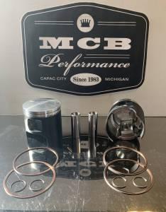 MCB - MCB Polaris 600 CFI Durability & Performance Top End Piston Kit Pro Rush IQ Indy Switchback RMK LATE MODELS - Image 2