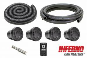 John Deere RSX 850 and 860 Inferno Cab Heater with Defrost (2012-Current) - Image 3