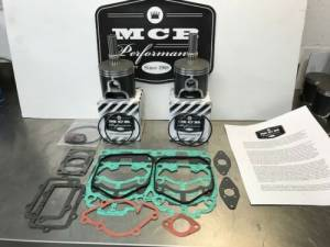 MCB Piston /Top End Kits:  STAGE -1  - SKI DOO  - MCB Dual Ring Pistons - Ski Doo 800 HO / NON-HO - 2001-2007 - MCB DUAL RING PISTON KIT