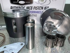 MCB - Dual Ring Pistons - Arctic Cat 800 HO C-TEC2 2018-2019 PISTON KITS - Image 2