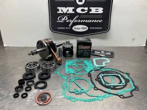 MCB - Suzuki 2002-2019 RM85 Bottom End crankshaft Kit with Piston and cylinder options - Image 3