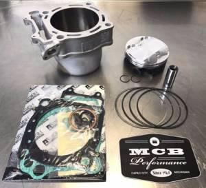 MX Top End Kits - Suzuki - MCB - 2013-2020 Suzuki RMZ450 Wossner Top End Rebuild Kit Replated Cylinder 28HO 1211-28H10-0F0