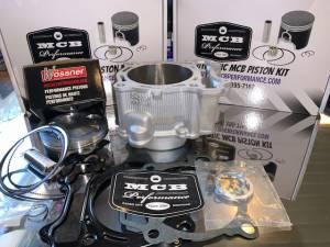 MX Top End Kits - Yamaha - MCB - 2006-2009 Yamaha YZ450F Wossner Top End Rebuild Kit Replated Cylinder 2S200