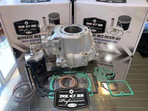 MX Top End Kits - Kawasaki - MCB - Kawasaki KX250 Wossner Piston Top End Rebuild Kit with Replated Cylinder