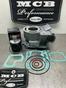 MX Top End Kits - Suzuki - Wossner Pistons - 2005-2020 Suzuki RM85 Complete Top End Piston Kit with gaskets and new cylinder 03B3 11200-03830.