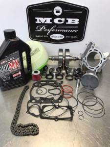 MX Engine Rebuild Kits - SUZUKI - MCB - 2013- 2015 Suzuki RMZ-250 Complete engine rebuild Crank Bearings FORGED PISTON