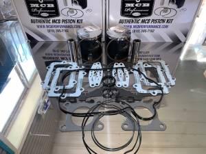 SNOWMOBILE - MCB Piston /Top End Kits:  STAGE -1  - Stage 1 Polaris 600 IQ Racer FORGED Top End kit