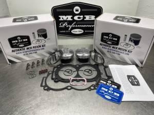 Stage 1 Polaris RZR 1000 MCB forged piston kit, top end repair kit with top end gasket set