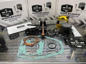 Yamaha Blaster 200cc rotating engine rebuild kit, crankshaft, piston, gaskets MCB Stage 2