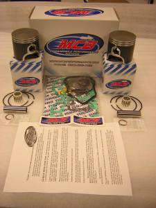 Pistons - Piston Kits - MCB Dual Ring Pistons - 800 - 2001-2007 (except 07 800 Summit) MCB Dual Ring Piston Kit