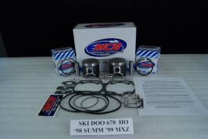 MCB - Ski Doo - 670cc & 700cc Piston Kits