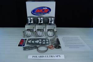 MCB-Dual Ring Pistons - 680cc & 700cc Piston Kits