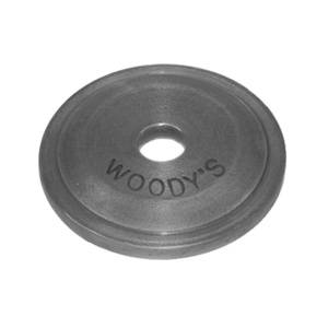 Woody's Studs, Nuts & Backers - Backers - Woody's - Grand Digger Round and Square Single Support Plates for Single Ply Tracks